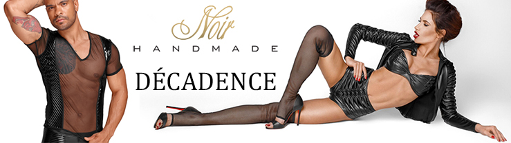 Nouvelle collection Noir HANDMADE Decadence