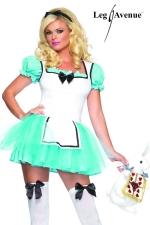 Costume sexy Alice : Costume sexy d'Alice au Pays des Merveilles.