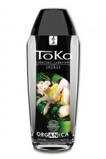 Lubrifiant Toko Organica - 165 ml : Lubrifiant intime certifié Bio, à base d'eau, fabriqué par Shunga.