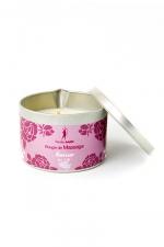 Bougie de massage Fleur de cerisier