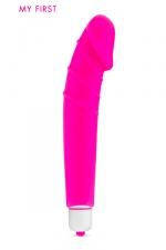 Vibro Yoo Hoo - My First : Un petit vibro puissant et semi-réaliste, le sextoy idéal pour se familiariser avec l'utilisation d'un sextoy.